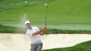Charl Schwartzel on the up after taking outright lead