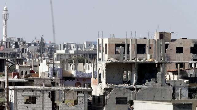 Qusair is usually home to an estimated 30,000 people