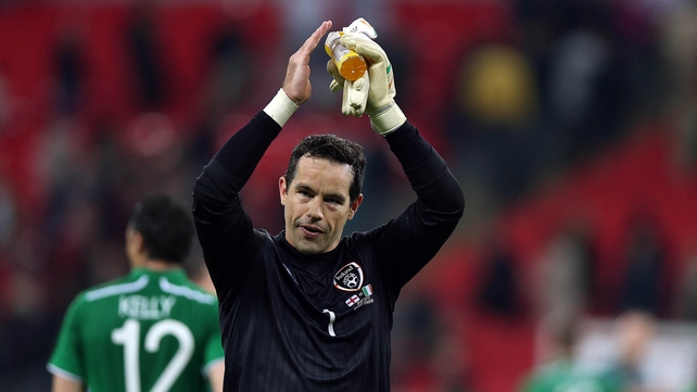 David Forde is hoping to be fit for Friday