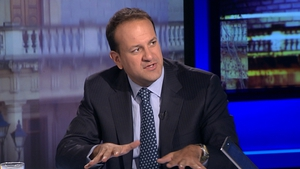 Leo Varadkar said that Government measures, such as the property tax, have contributed to the economy's return to recession