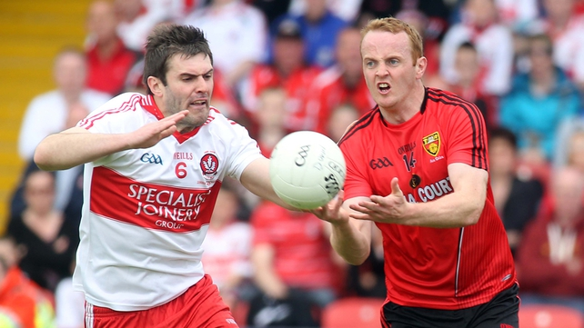 Derry take on Down in the second round