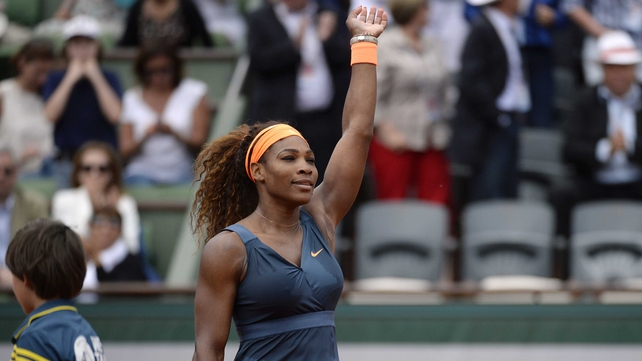 Serena Williams is aiming for a 16th grand-slam title