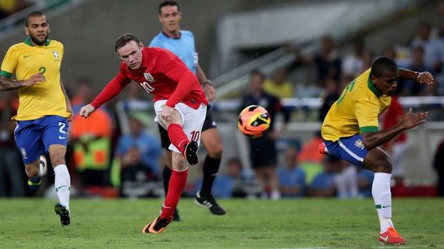 Wayne Rooney had put England 2-1 ahead