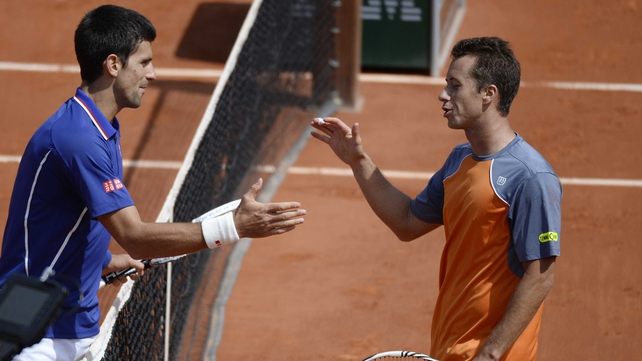 Novak Djokovic now meets Tommy Haas in the last-eight