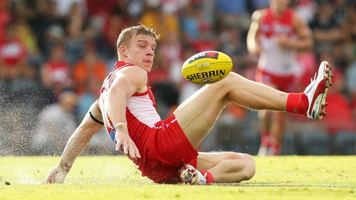Tommy Walsh signed for Sydney Swans in October 2011