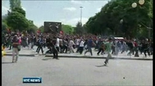 Turkish PM calls for calm amid protests