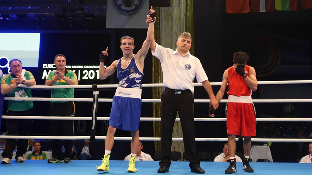 Michael Conlan's win prevented it being a blank day for Irish boxers