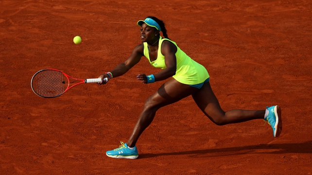Sloane Stephens beat Serena Williams at the Australian Open in January