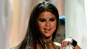 Selena Gomez by starstruck by Bradley Cooper's piercing blue eyes