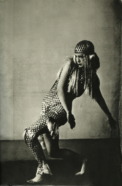 Lucia Joyce dancing at Bullier Bal, Paris. May 1929.