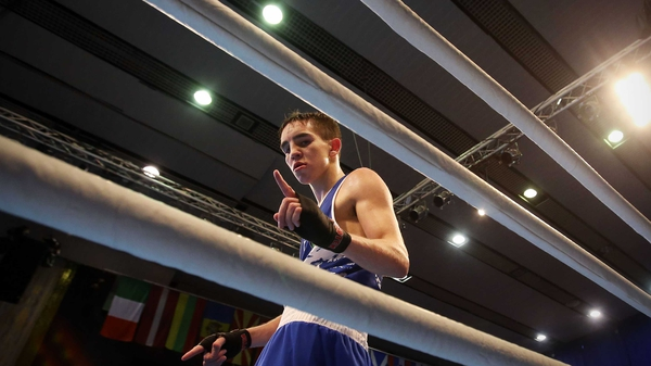 Michael Conlan was the only Irish boxer to win yesterday