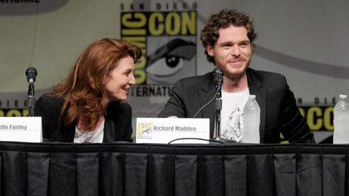 Game of Thrones' stars Michelle Fairley and Richard Madden