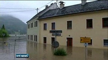 Flooding spreads across central Europe