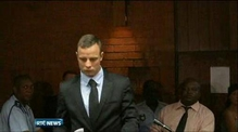 Pistorius in court for first time since being freed on bail