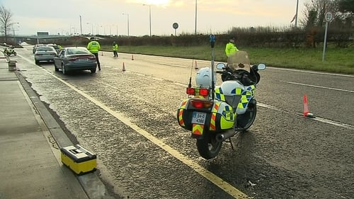 Gardaí mounted checkpoints around the country as part of a campaign targeting drink-driving