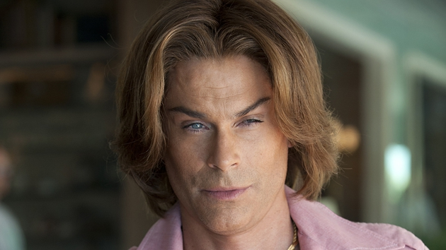 Rob Lowe suffering for his art