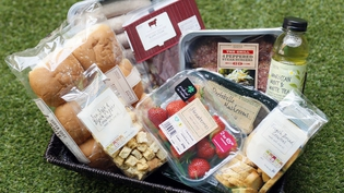 A selection of the delectable Irish produce currently on M&S shelves