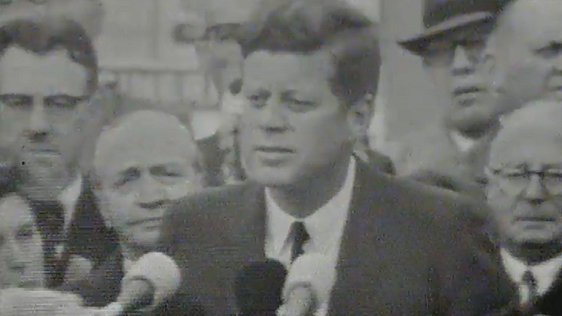President Kennedy Speech at Wexford on Day 2 of his visit to Ireland
