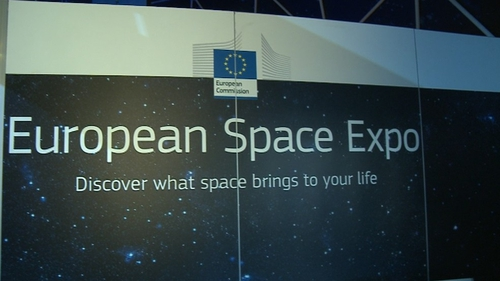 The European Space Expo is open until Sunday and admission is free