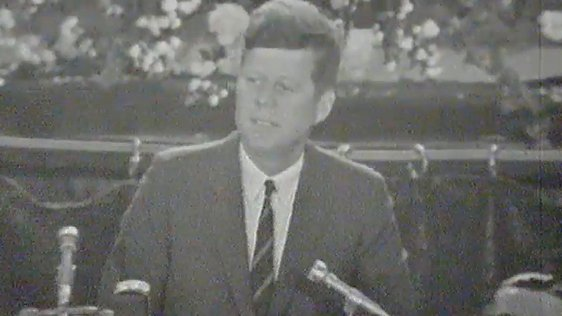 President Kennedy in Cork, 1963