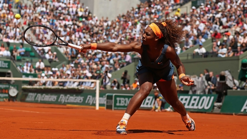 Serena Williams' only previous French Open title came in 2002