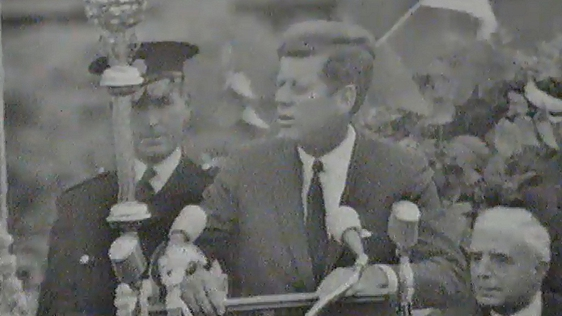 President Kennedy at Eyre Square, Galway