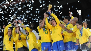 Brazil lifted the Confederations Cup in 2013