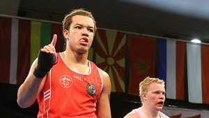Tommy McCarthy is due in the ring in Almaty at 1530