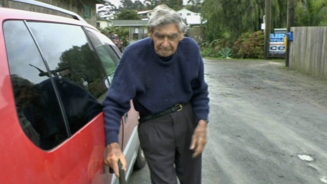 New Zealand's oldest driver is still on the road