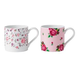Royal Albert tea mugs, €23.50, available from Debenhams.