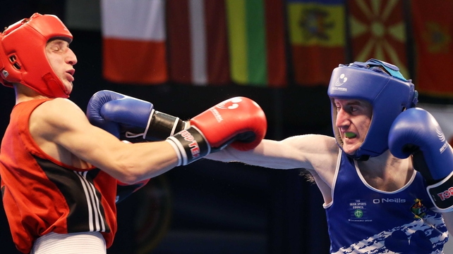 Paddy Barnes is guaranteed a medal at the European Championships