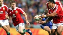 Brian O'Driscoll looks forward to the first Lions test with Australia