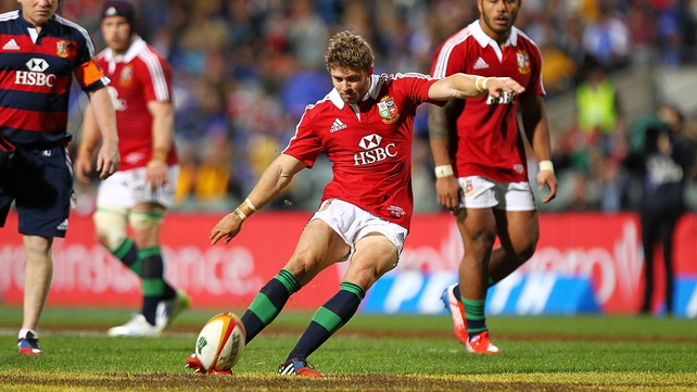 Leigh Halfpenny wants to kick his way past Neil Jenkins' points record