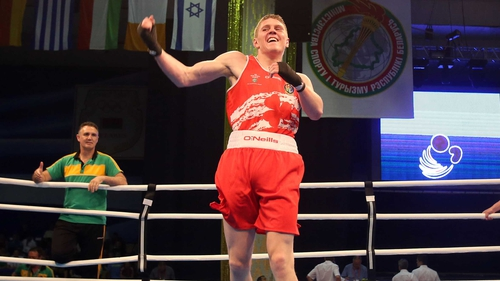 Jason Quigley won his bout 2-0