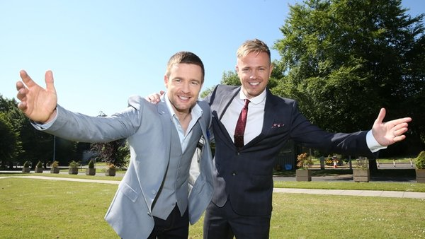 The Hit presenters Aidan Power and Nicky Byrne