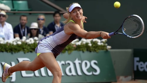 Maria Sharapova has won both of her matches on clay against semi-final opponent Victoria Azarenka
