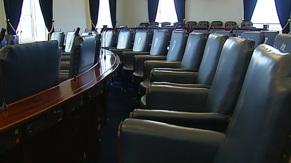 The Seanad will return on 18 September