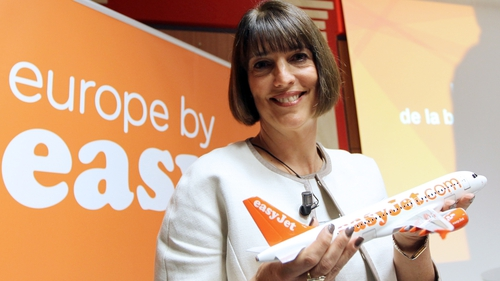 EasyJet's CEO Carolyn McCall says the airline's summer bookings are ahead of last year