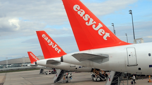EasyJet said it expects to post a pre-tax loss of between £55-65m for the six months to March 31