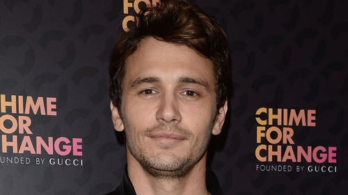 James Franco - fundraising for three movie projects