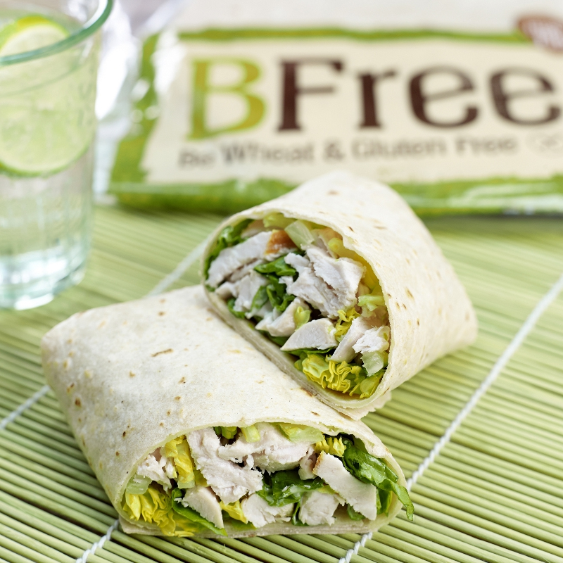 BFree launch brand new gluten-free wrap range