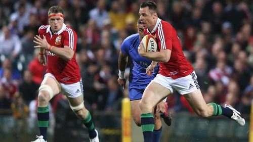 Tommy Bowe will start for the Lions against Australia