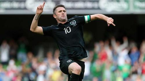 Robbie Keane scored twice against Georgia last weekend