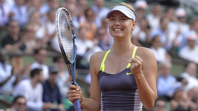 Maria Sharapova has a wretched record against Serena Williams
