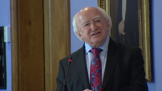 President Michael D Higgins said the future of political institutions is a matter for Government and the people