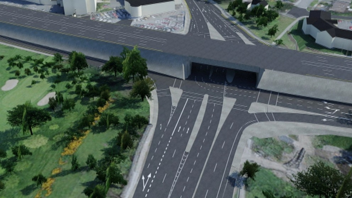 Newly designed Newlands Cross to open to traffic