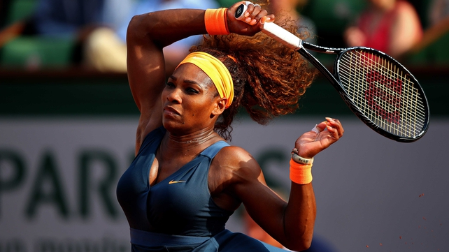 Serena Williams has won 73 of the 76 matches she has contested since her shock first-round exit at the French Open last year