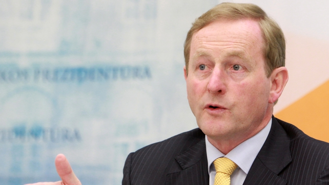 The senator criticised Enda Kenny for his comments on the Seanad doing nothing to stop the excesses of the Celtic Tiger