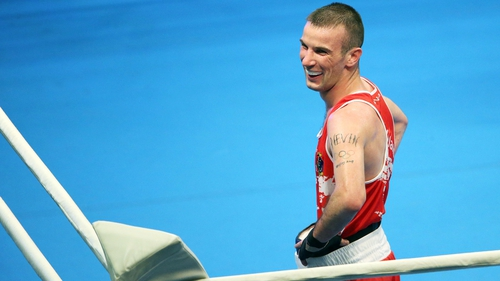 The Olympic silver medallist has been training at Bozy's Dungeon Gym in Philadelphia