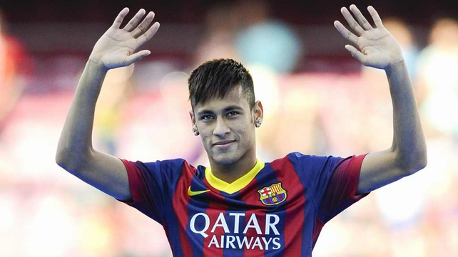 Neymar joined Barcelona in a big money move last Monday
